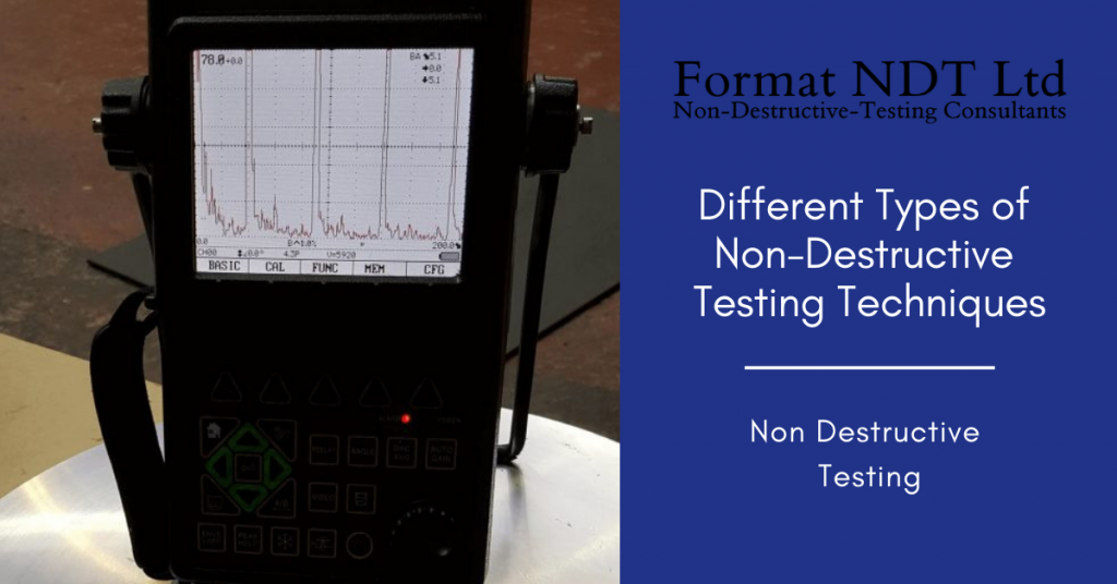Different types of non destructive testing methods